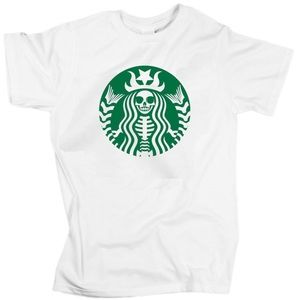 Starbucks inspired Halloween tshirt